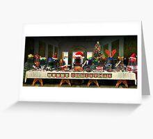 The Last Christmas Dinner Greeting Card