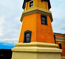 Split Rock Lighthouse by markwestpfahl