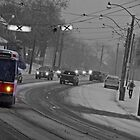 Streetcar in the Snowstorm by Susan Drysdale