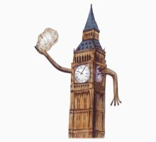 Big Ben the Time Keeper of London by GPuddleDuck