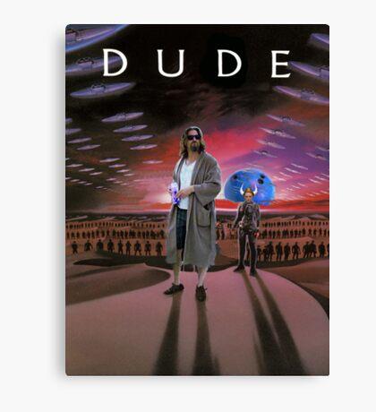 DUDE/DUNE Canvas Print