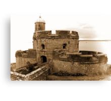 St. Mawes Castle Canvas Print