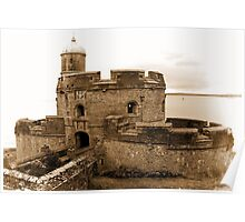 St. Mawes Castle Poster
