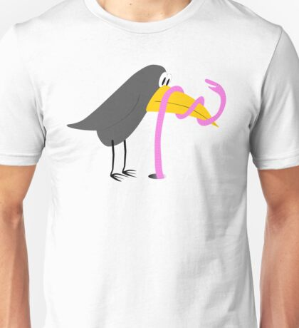 Bird and Worm - Duel Unisex T-Shirt