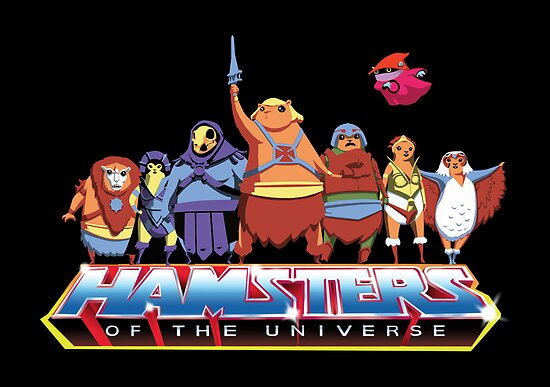 Hamsters Of The Universe by Fuacka