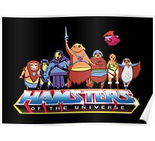 Hamsters Of The Universe Poster