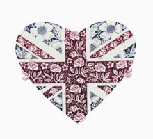 Floral Union Jack Heart by DecorativeD