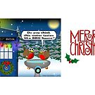 Dalek Christmas Bird Bath by ToneCartoons