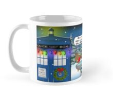 Dalek Christmas Bird Bath Mug