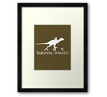 Ark Survival Dino Framed Print