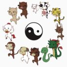 Chinese Zodiac by itsuko