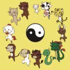 Chinese Zodiac by itsuko