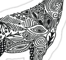 Designer Giraffe Sticker