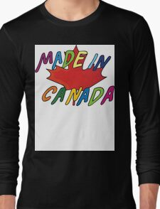 Made In Canada Long Sleeve T-Shirt