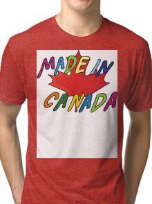 Made In Canada Tri-blend T-Shirt