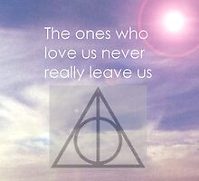 Deathly Hallows iPhone Case by nadineff