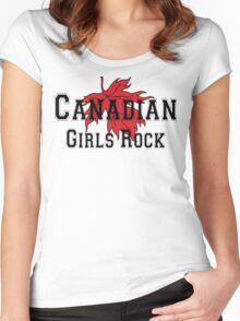 Canadian Girls Rock Women's Fitted Scoop T-Shirt