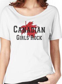 Canadian Girls Rock Women's Relaxed Fit T-Shirt