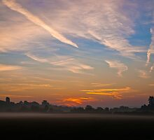 Sunrise over Bartonsham by Rob Meredith