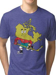Canadian Hockey Tri-blend T-Shirt