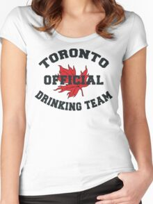 Toronto Drinking Team Women's Fitted Scoop T-Shirt