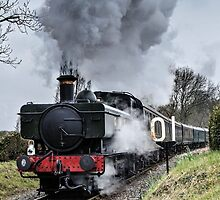 Steam Train by JEZ22