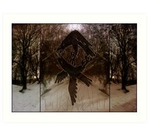 Triptich Odin Rune Art Print