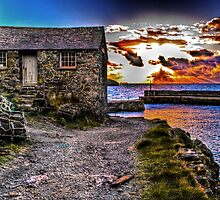 The Old Fisherman's Hut HDR by Anthony Hedger Photography