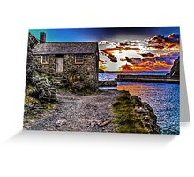 The Old Fisherman's Hut HDR Greeting Card