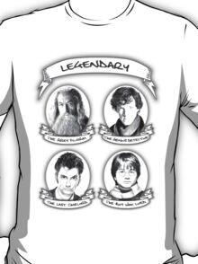 Gandalf, Sherlock, The Doctor and Harry T-Shirt