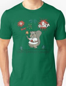 Happy Birthday Canada Unisex T-Shirt