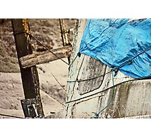 Covered Wreck Photographic Print