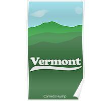 Vermont: Camel's Hump Poster Poster