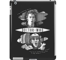 The Doctor and Donna Noble (with DW Logo) iPad Case/Skin