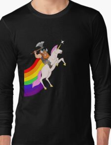 Hairy and Sparkles Long Sleeve T-Shirt