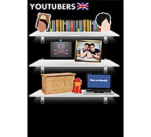 British YouTubers Poster Photographic Print