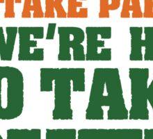 Conor McGregor - Quotes [TakeOver] Sticker