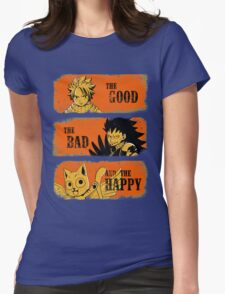 The Good, the Bad and the Happy Womens Fitted T-Shirt