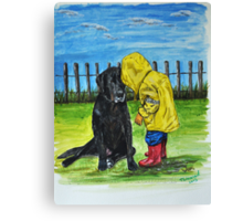 """""""Do you want to come and play with me"""" Canvas Print"""
