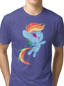Chibi Rainbow Dash Tri-blend T-Shirt