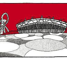 The Olympic Stadium by Emma Bennett