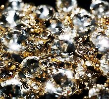 Diamonds and Gold SuperMacro 9 by AnnArtshock