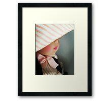 Behind the Bonnet Framed Print