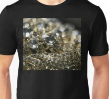 Diamonds and Gold SuperMacro 10 Unisex T-Shirt