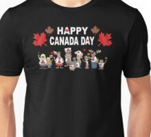 Happy Canada Day Unisex T-Shirt