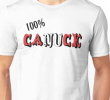 Canadian 100% Canuck Unisex T-Shirt