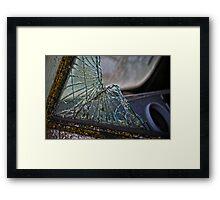 Shattered Framed Print