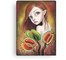 Flytrap Child Canvas Print