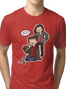 Sherlock, Joan, and Clyde Tri-blend T-Shirt