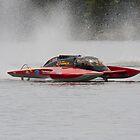 Power Boats by Rodney Wratten